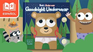 El oso que usa calzoncillos: A descansar calzoncillos