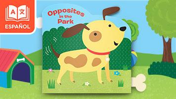 Opuestos en el parque