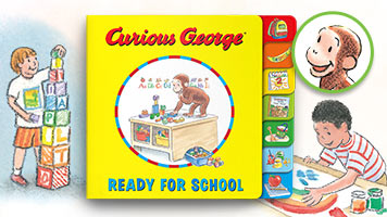 Curious George Ready for School