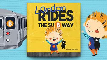 Landon Rides the Subway
