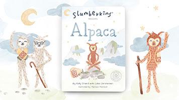 Slumberkins Presents: Alpaca