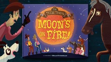 Moon's on Fire!